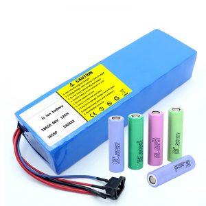 Літієвий акумулятор 18650 60V 12AH літій-іонний акумуляторний акумулятор
