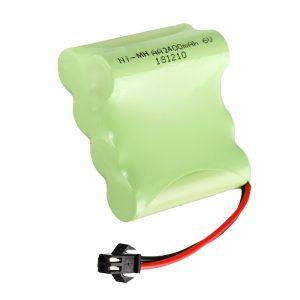 Акумуляторна батарея NiMH AA2400 6V Перезаряджаються електричні інструменти для іграшок Battery Pack