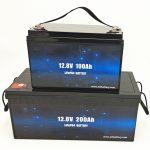 Глибокий цикл LiFePO4 сонячна батарея 12V 100Ah / 200Ah Golf Cart Літій-іонний акумулятор
