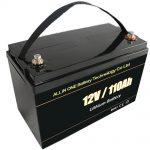 Свинцево-кислотна заміна сонячної акумуляторної батареї 12V 110Ah lifepo4 літієва батарея