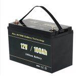 ВСЕ В ОДНОМІ Найбезпечніший літієвий акумулятор RV 12v 100ah LiFePO4