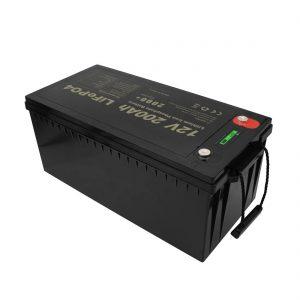 Літій-іонні акумулятори LiFePO4 12V 200Ah, що не потребують технічного обслуговування, мають новий дизайн