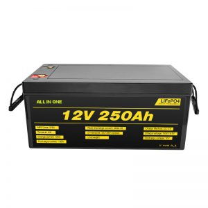 Most Popular Best Solar System Batteries Pack 12V 250Ah LiFePO4 Lithium Ion Battery