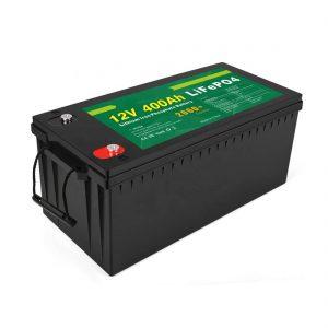 Заводська ціна Сонячна батарея LFP глибокого циклу 12v 400Ah Сонячна батарея LiFePO4