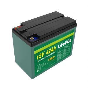 Технічне обслуговування Індивідуальна сонячна батарея 12v 40ah 42ah Lifepo4 Cell Lifepo4 з акумулятором BMS