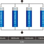 18650 Підключення літієвої батареї