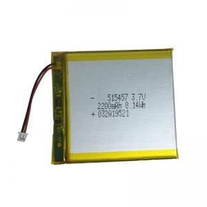 Полімерні літієві батареї на 3,7 В на 2200 мАг для розумних домашніх пристроїв