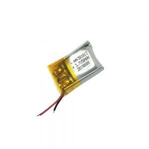 Високоякісний літій-полімерний акумулятор 3,7 В 50 мАг 581013 акумулятор
