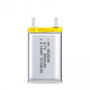 Акумуляторна батарея LiPO 603048 3.7V 850mAh / 3.7V 1700mAH / 7.4V 850mAH