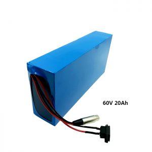 Індивідуальний акумуляторний акумулятор 60v 20ah EV літієвий акумулятор