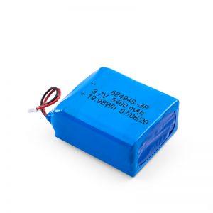 Акумуляторна батарея LiPO 624948 3,7 В 1800mAH / 3,7 В 5400mAH