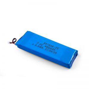 Акумуляторна батарея LiPO 651648 3.7V 460mAh / 3.7V 920mAH / 7.4V 460mAH