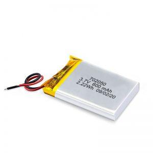 Китайська оптова міні-літій-полімерна літієва акумуляторна батарея для іграшкових автомобілів 3.7V 600Mah 650Mah