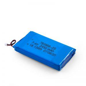 Акумуляторна батарея LiPO 783968 3.7V 4900mAH / 7.4V 2450mAH / 3.7V 2450mAH /