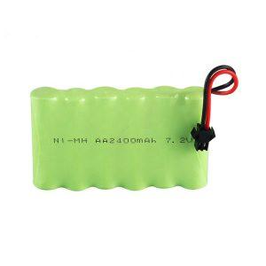 Акумуляторна NiMH акумуляторна батарея AA 2400mAh 7.2V