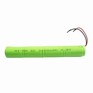 Акумуляторна батарея NiMH SC 3600mAH 4.8V