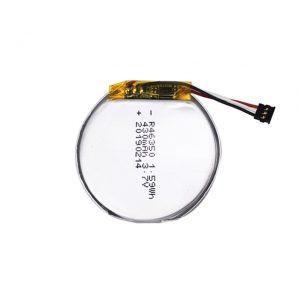 Акумулятор LiPO 46350 3.7V 350mAH смарт-годинник 46350 невеликий плоский круглий літій-полімерний акумулятор для іграшок