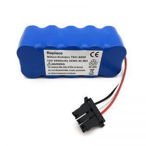 12-вольтовий акумулятор ni-mh для пилососа TEC-5500, TEC-5521, TEC-5531, TEC-7621, TEC-7631
